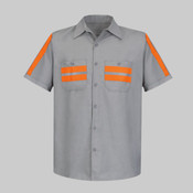 Enhanced Visibility Industrial Work Shirt