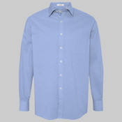 Stretch Pinpoint Spread Collar Shirt